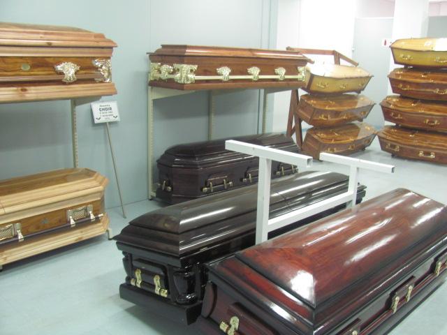 Гробы для похоронного бюро