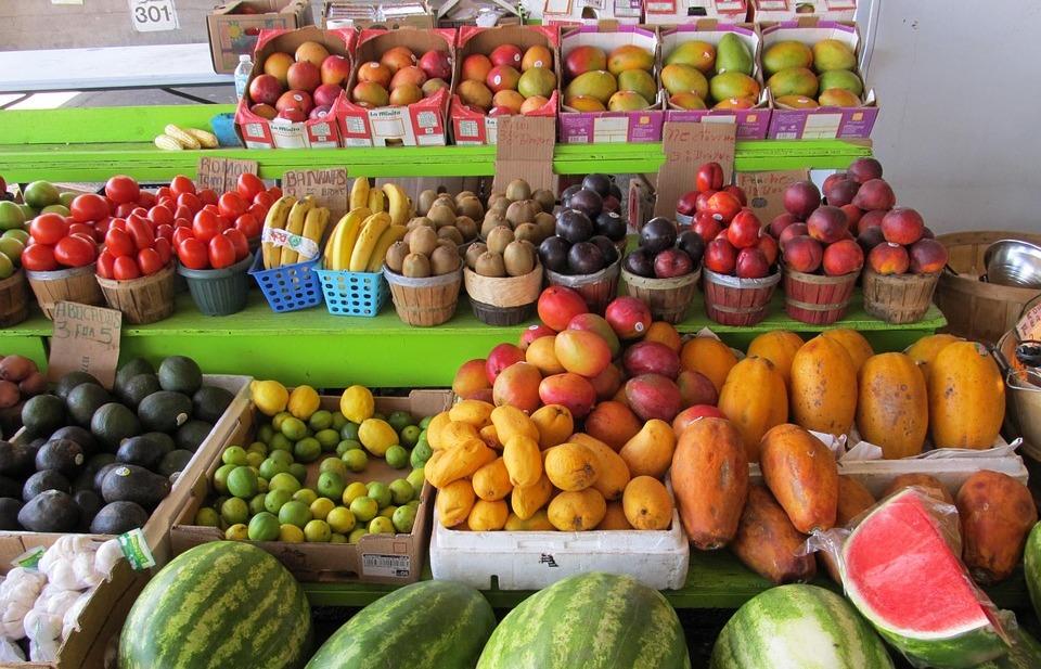 оптовая торговля фруктами и овощами